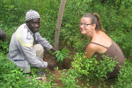 Chrissie Faupel was a Peace Corps volunteer in Senegal