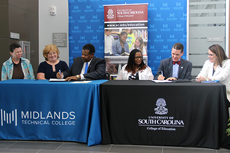 Midlands Tech, COE signing ceremony