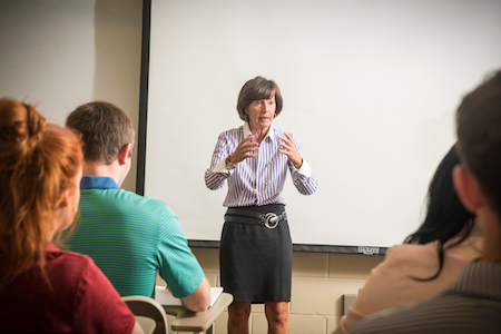 Susan O'Malley teaching