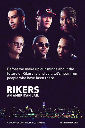 """Rikers: An American Jail"" film poster"