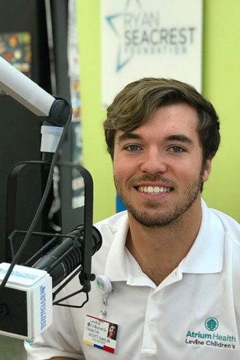 Scotty Galvin at Seacrest Studios