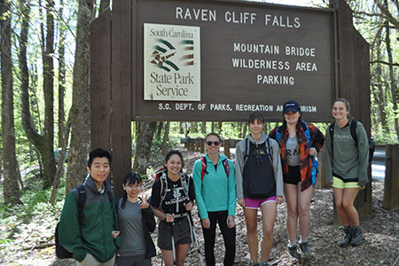 Adventure Trip at Raven Cliff Falls