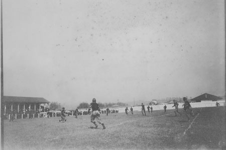 A photo of the 1909 clemson carolina football game on Big Thursday