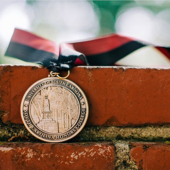 medallion for the South Carolina Honors College