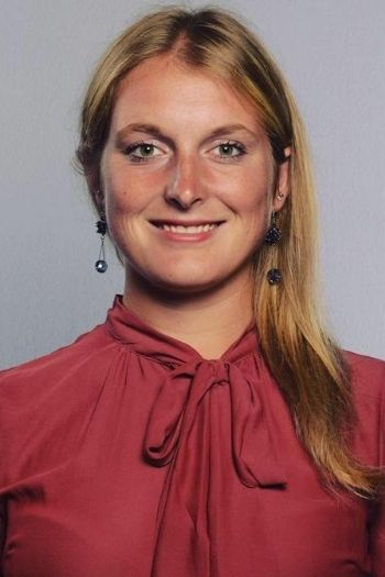 Professional headshot of Silvia Chinellato, an italian international student and tennis player