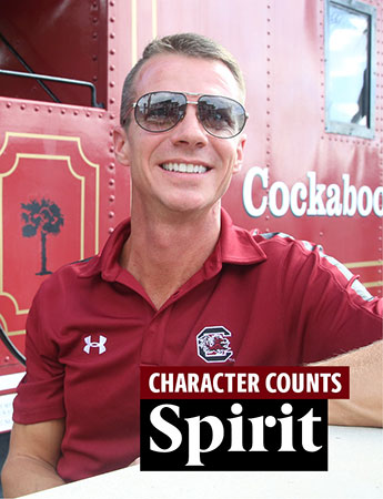 Garrett Humphries, Character Counts: Spirit