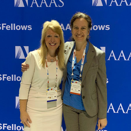 susan richardson and caryn outten are named AAAS fellows