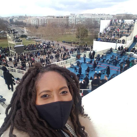 Jotaka Eaddy at inauguration