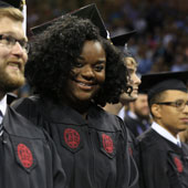 UofSC awards 1,526 degrees for baccalaureate, master's and professional-degree recipients.