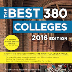 UofSc was named one of the best 380 colleges in the U.S.