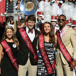 The winners of UofSC's Showcase were recognized at a recent football game.